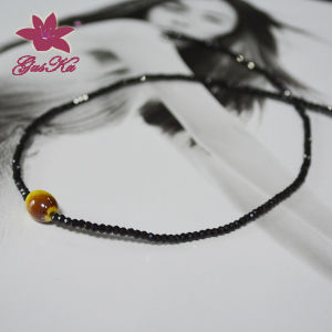 Fashion Black Spinel Necklace for Wholesale Gus-Fsn-002