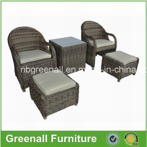 Garden Furniture Outdoor Leisure Wicker Patio Rattan Sofa Set pictures & photos