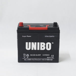 Mf Auto Battery Nx100-6ls Mf 12V50ah High Performance JIS Car Battery pictures & photos