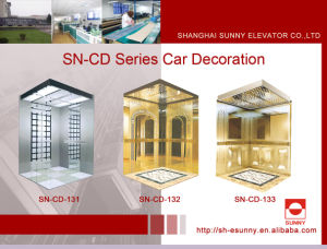 Elevator Cabin with White Acrylic Lighting Panel (SN-CD-131) pictures & photos