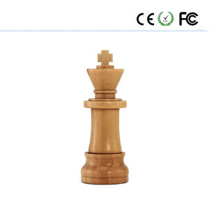 Wooden Chess U Disk Walnut Maple USB Flash Disk pictures & photos