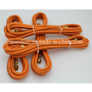 "3/16"" BS En559 Orange Natural Gas Meter Flexible Hose pictures & photos"