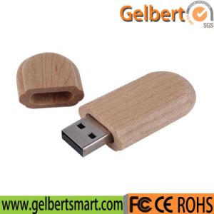 Environmental Promotion Custom Logo Wooden USB Stick for Gifts pictures & photos