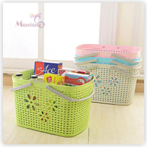 Wholesale Plastic Multifunction Hollow-out Designed Storage Basket pictures & photos