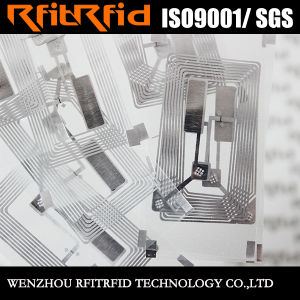 13.56 Anti-Theft Passive RFID Sticker Tag for Management