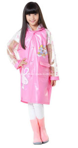 Children PVC Raincoat pictures & photos