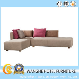 Hotel Living Room Furniture Hotel Bedroom Fabric Sofa pictures & photos