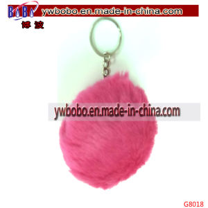 Fur POM Keyring Promotional Products Artificial Fur Promotion Keychain (G8018) pictures & photos