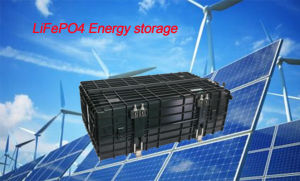 24V120ah High Energy Density LiFePO4 Battery Pack pictures & photos