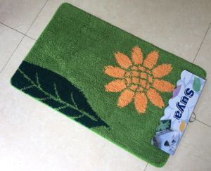 Bathroom Microfiber Carpet Bath Toilet Anti-Slip Table Bath Mat pictures & photos