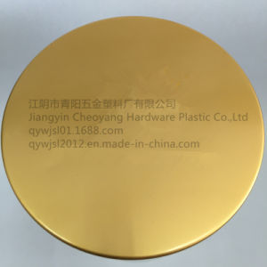 83mm/400 Matte Golden Aluminum-Plastic Cap for Cream Bottle pictures & photos