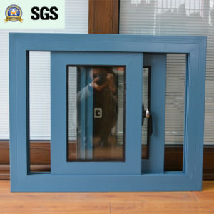 Australia Style Powder Coated Aluminum Sliding Window K01058 pictures & photos