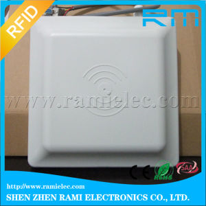 Car Park Gate Control RFID UHF Reader Mr6011A 10 dBi Antenna 10 Meters