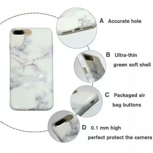 High Quality Marble Design TPU iPhone Case for iPhone 7 pictures & photos