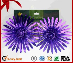 Handmade Shiny Christmas Decoration Fancy Bow pictures & photos