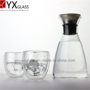 Popular High Borosilicate Heat Resistant Clear Glass Teapot/Glass Cold Brew Coffee Maker/Cold Water Glass Jar Pitcher Jug Water Kettle pictures & photos