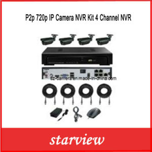 P2p 720p IP Camera NVR Kit 4 Channel NVR pictures & photos