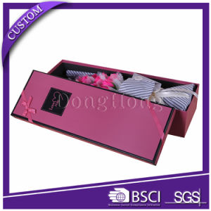 Custom Luxury Paper Gift Packaging Rectangle & Round Flower Box pictures & photos