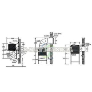 Low Noise Energy-Saving Air-Conditioner Cooler Ventilation Used in Factory pictures & photos