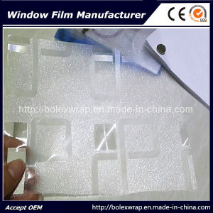 Hot Sell~ Self Adhesive Window Film, Sparkle 3D Decorative Stained Glass Window Film 1.22m*50m pictures & photos