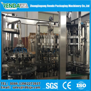 Pull Ring Cap Glass Bottle Beer Filling Machine (Washer filler capper) pictures & photos
