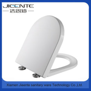 D Shape Smooth Polished Toilet Cover Duroplast pictures & photos