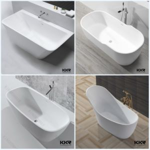 Frestanding Hotel Acrylic Stone Solid Surface Bath Tub pictures & photos