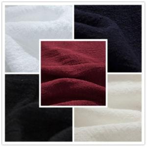 Woven Textile Nylon Rayon Linen Look Fabric for Shirt