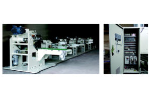 Full Automatic Toilet Tissue Log Saw Cutter Machine pictures & photos
