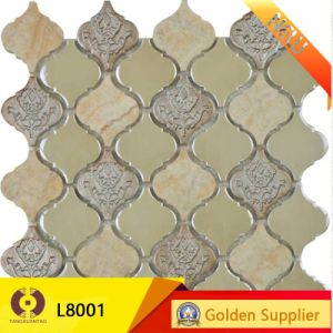 Ceramic Glass Marble Mosaic Wall Tile Building Material (LB001) pictures & photos