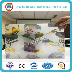 4-8mm New Pattern Decorative Glass with Ce ISO pictures & photos