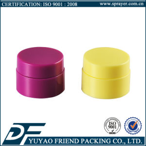 5g Wholesale Double Wall Plastic Cosmetic Jar