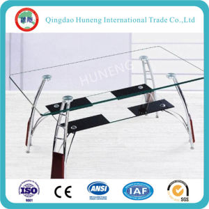 China Clear Table Bent Tempered Glass with CCC ISO pictures & photos