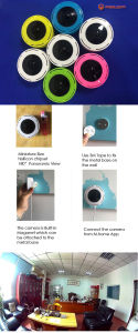 P2p Home Use WiFi IP Camera with 1.0MP 720p pictures & photos