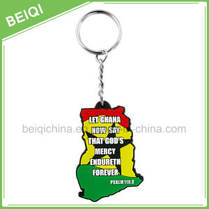 Fashion Custom Rubber Promotional Key Chain /Key Holder pictures & photos
