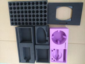 Custom Foam Inserts for Bottles, Glass Tube, Cosmetic, Jewellery etc., EVA Foam Inserts, EPE Foam Inserts, Custom Foam Inlay