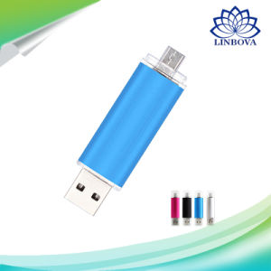 2 in 1 Colorful OTG USB2.0 Flash Drive for Smart Phone pictures & photos