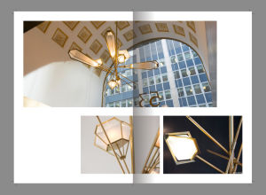 Hotel Project Iron and Glass Pendant Lamps (KA8326) pictures & photos