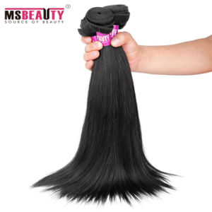 Malaysian Virgin Straight Hair Mink Hair Weave pictures & photos