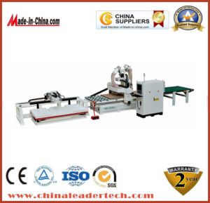 High Efficiency Auto Loading and Unloading Nesting CNC Router Machine Professional for Kitchen Products pictures & photos