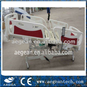 ABS Handrails Linak Motor 5 Function ICU Bed (AG-BY003B) pictures & photos