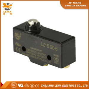 Lema UL Approved Lz15-Gd-B Mechanical Short Plunger Micro Switch pictures & photos