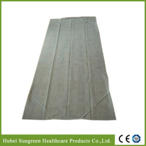 Disposable Non-Woven Fitted Bed Sheet with Elastics pictures & photos