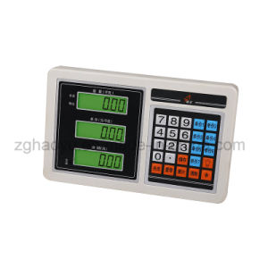 Skidproof Steel 5mm LED Backlight Electronic Platform Floor Scale pictures & photos