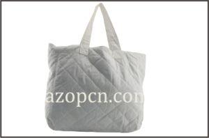 Lady′s White Cotton Handbag pictures & photos