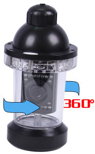 Underwater Camera 360 Degree Rotation Camera CR110-7B3 with 20m to 100m Cable pictures & photos