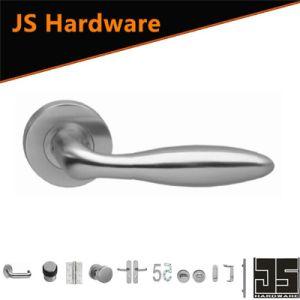 Jiangmen Hardware Factory 304 Stainless Steel Hollow Lever Door Handles pictures & photos