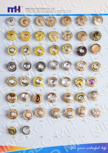 China Manufacturer of Iron Jeans Button pictures & photos