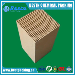 Honeycomb Heat Exchanger Substrate Honeycomb Ceramic Monolith pictures & photos