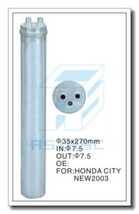 Filter Drier for Auto Air Conditioning (Aluminum) 35*270 pictures & photos